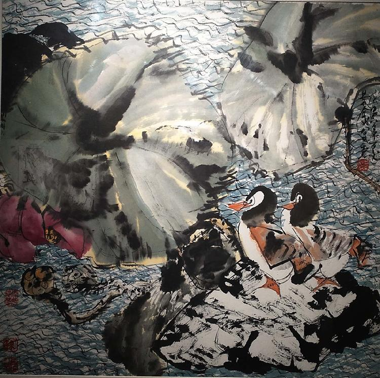 (配文)于景庆师生中国画展开展(受访者供(3477726)-20191004181306.jpg