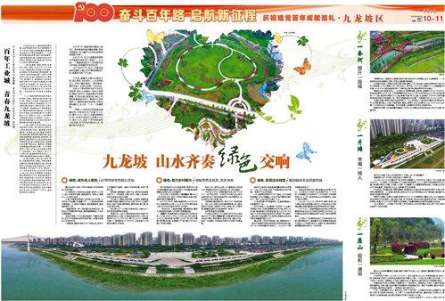 奮斗百年路 啟航新征程 慶祝建黨百年成就巡禮(九龍坡區)